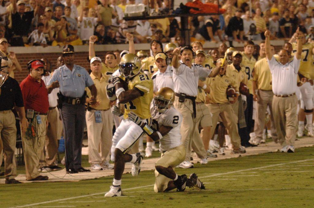 Calvin Johnson vs. Notre Dame, 2006