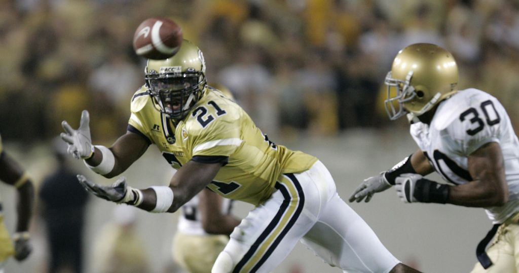 Calvin Johnson vs. Notre Dame 2006