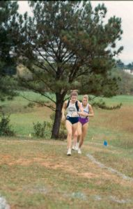 Beth (Mallory) Old, women's cross country/track and field