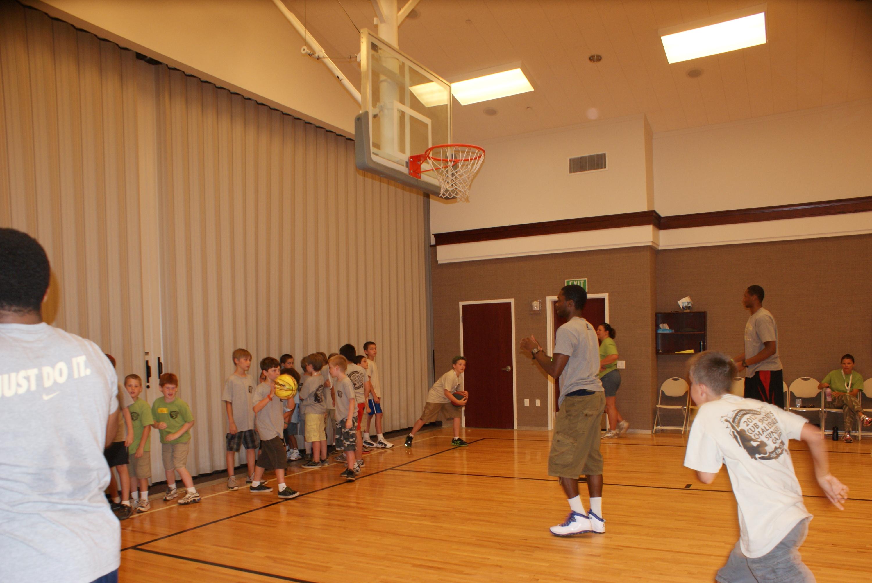Men's Basketball Sunset Cub Scout Camp – Georgia Tech Yellow