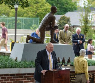 Bobby Dodd Statue Dedication