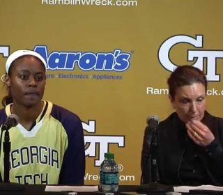 Georgia Tech Women's Basketball: Duke Postgame