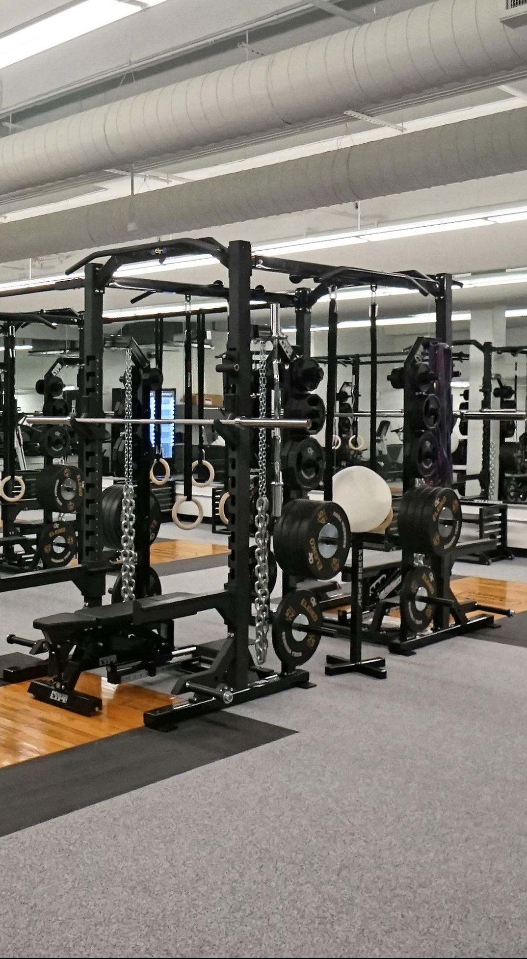 Russ Chandler Stadium -- Weight Room