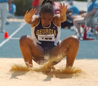 Chaunte Howard - Georgia Tech track & field