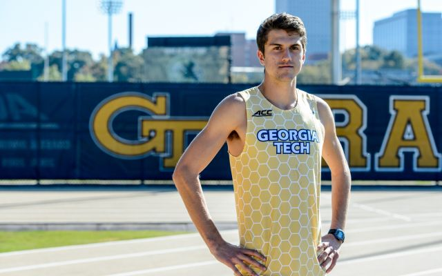 Gibbs' Mile Run Leads Track & Field Friday