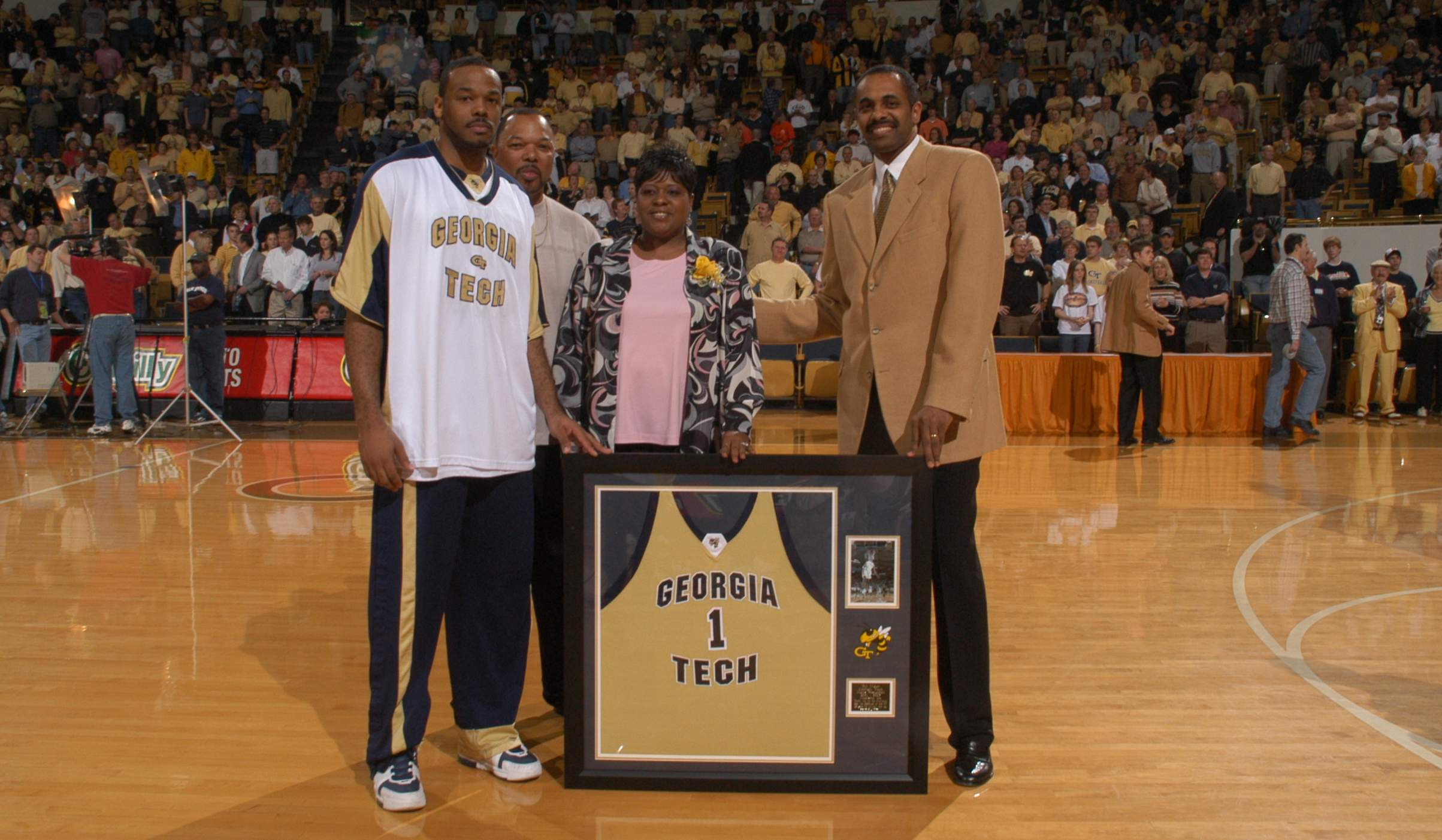 B.J. Elder - Georgia Tech basketball 2002-05 - Senior Night 2005