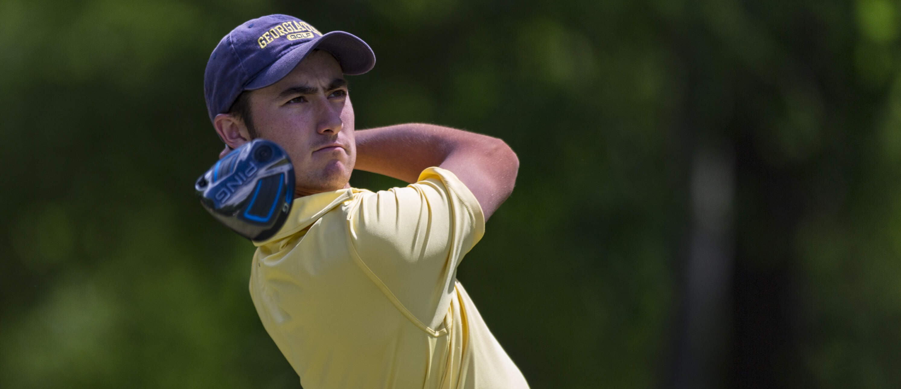 Chris Petefish during the second round of the ACC Golf Championship at the Old North State Club, New London, N.C.
