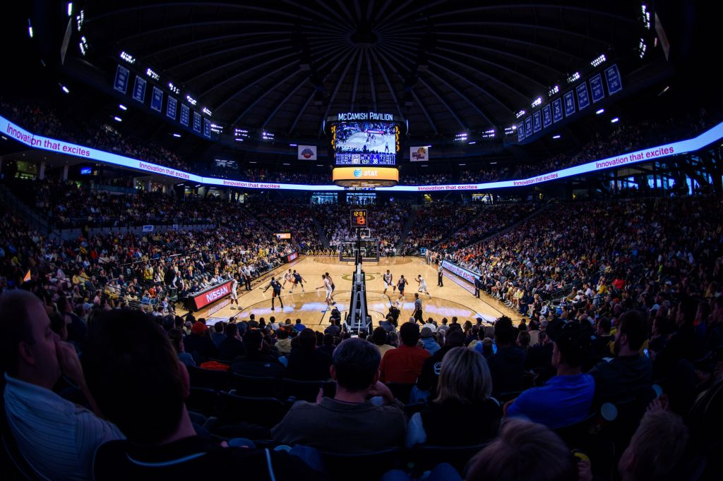 Men's Basketball vs. Notre Dame