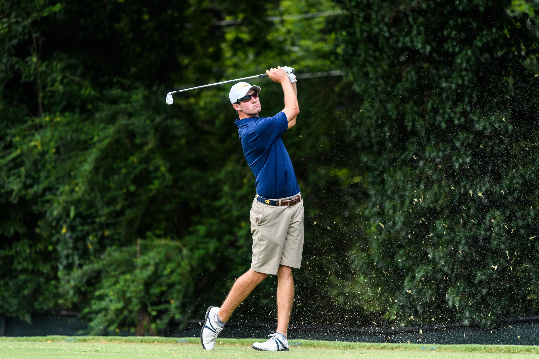 Anton Serafini - Georgia Tech Golf Qualifying August 28, 2016