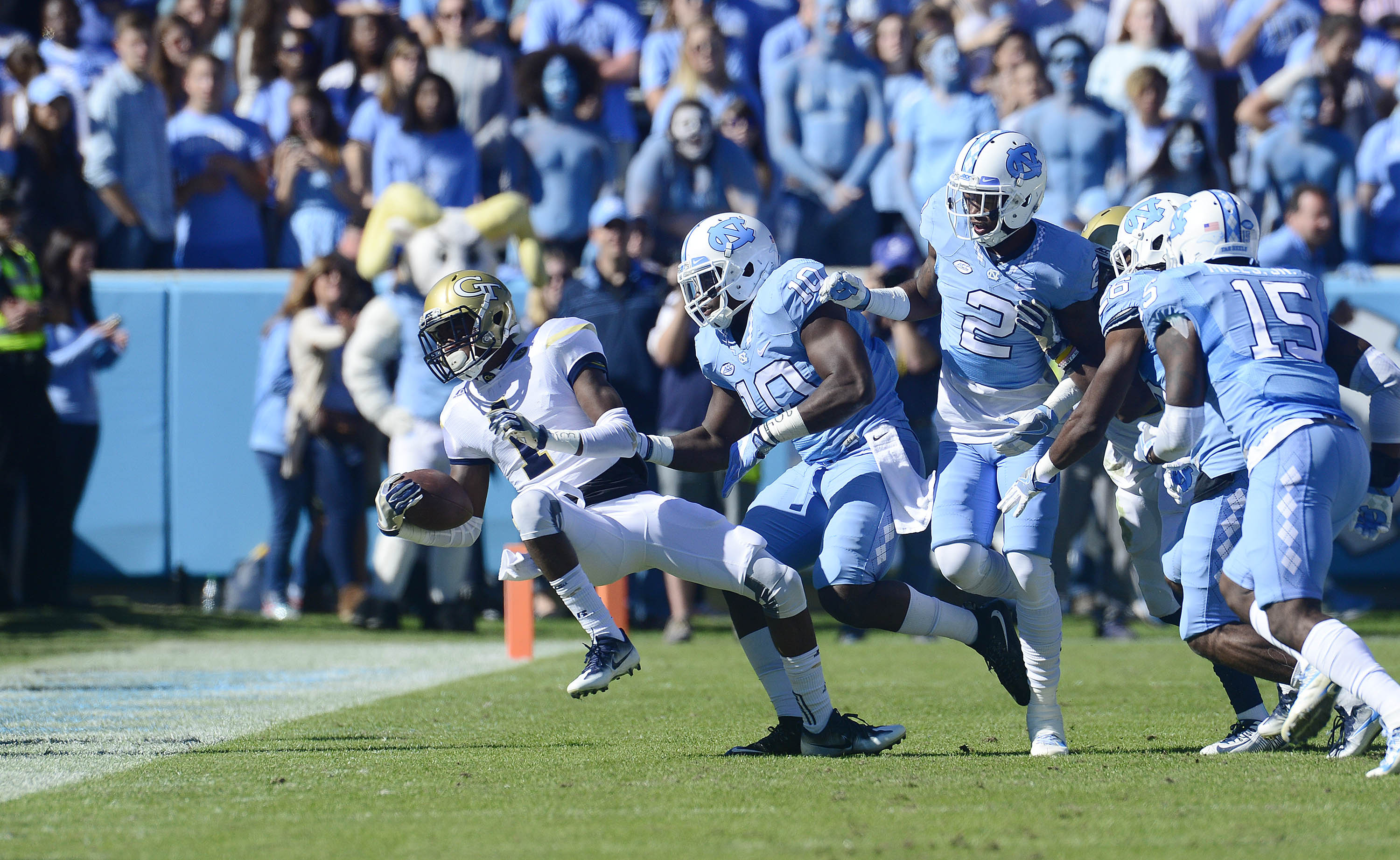 Photo 5University of North Carolina Football v Georgia TechKenan Football StadiumChapel Hill, NCSaturday, November 5, 2016
