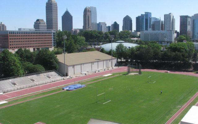 Howard Breaks Griffin Track Record at Georgia Tech Invitational