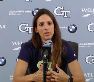 Volleyball Head Coach Michelle Collier Press Conference