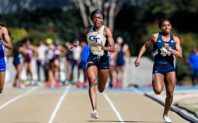 Duvall and Armsby Lead Jackets at Florida Relays