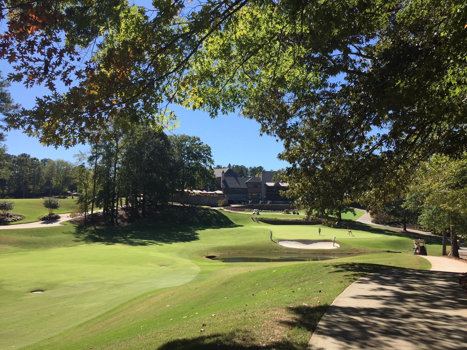 Golf Club of Georgia, October 20, 2017