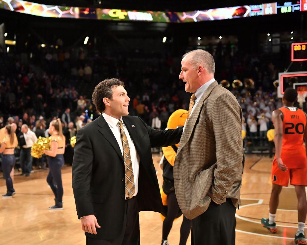 Coach Josh Pastner, Assistant Coach Eric Reveno