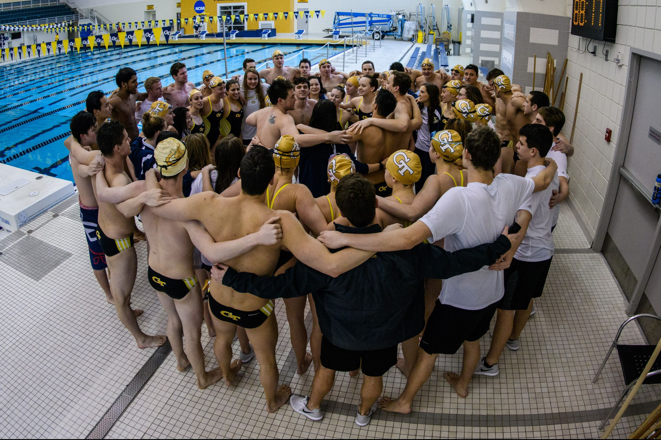 Swimming and Diving vs. Emory.