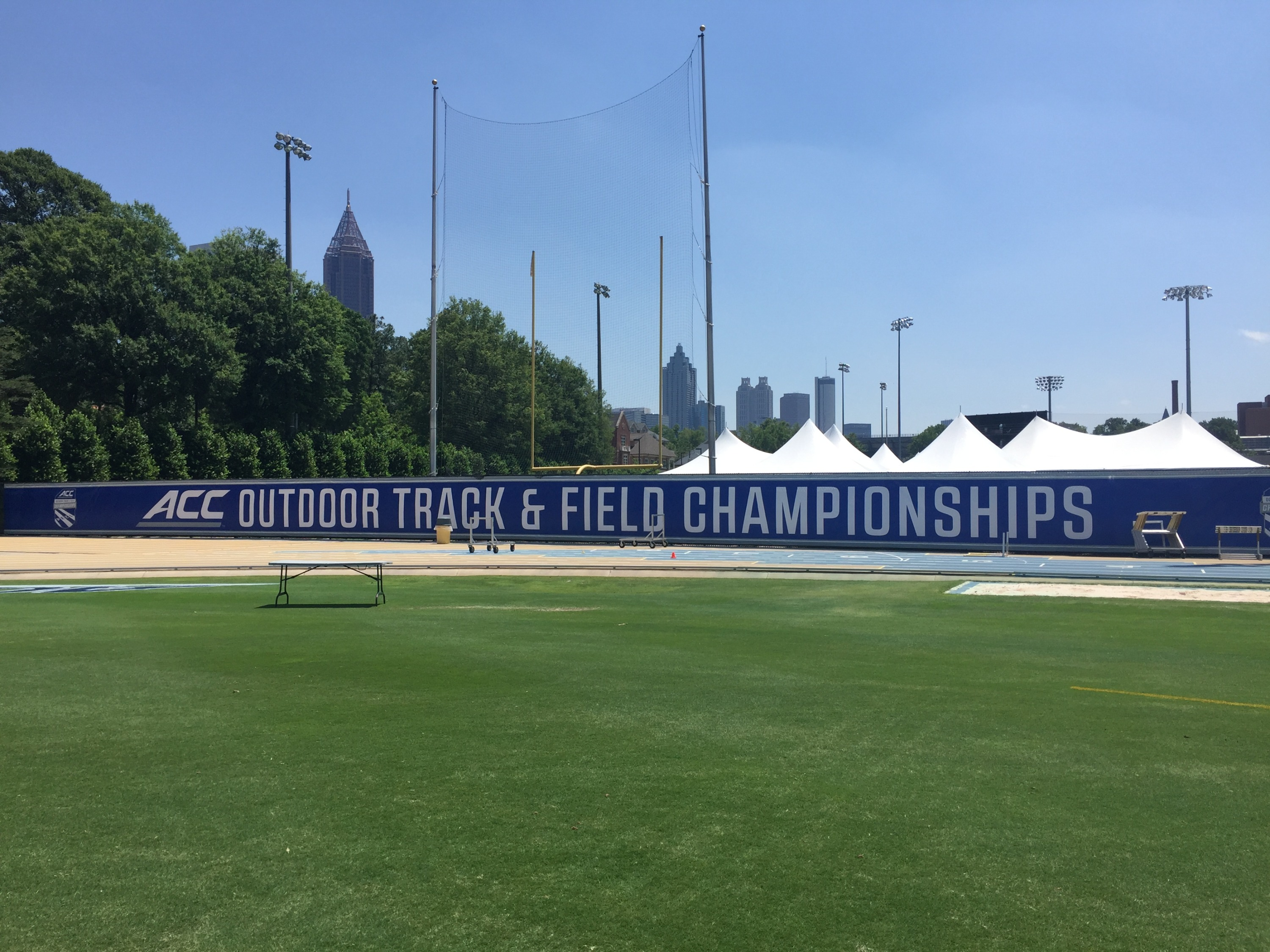 Griffin track ACC Championships 2017