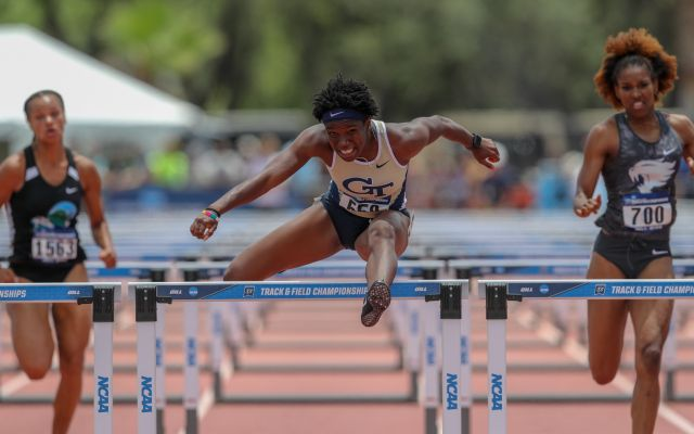 Miller Sets Tech High Jump Record as Four Jackets Post First-Place Finishes at Clemson Invitational