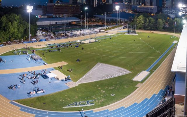 Georgia Tech Track Hosts Yellow Jacket Invite