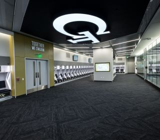 Video/Photos: GT Football Locker Room