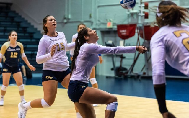 Volleyball to Host Gold/White Scrimmage Sunday