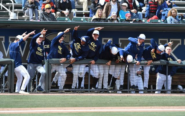 Georgia Tech Baseball Blasts Georgia, 13-6
