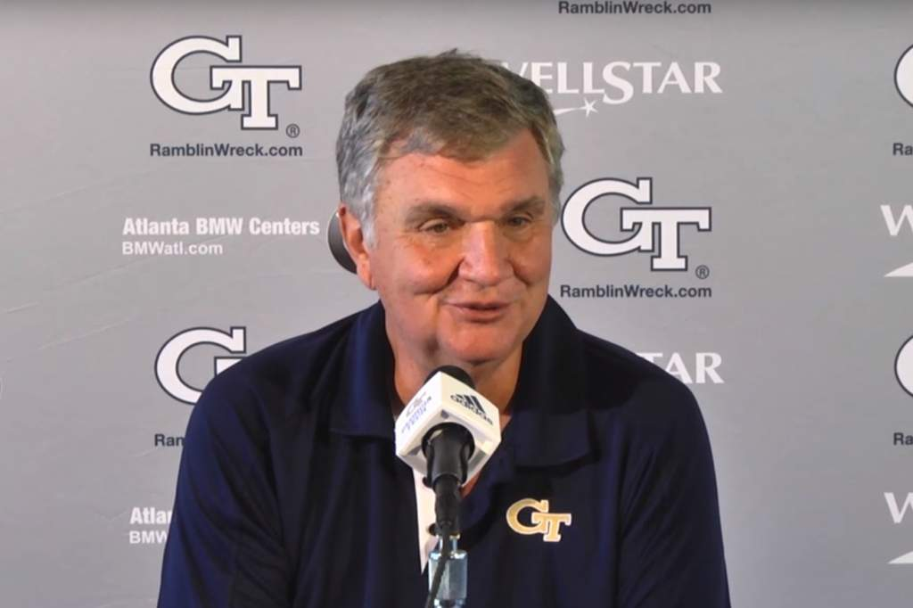 VIDEO: Paul Johnson Weekly Press Conference - Game 4 (Clemson)