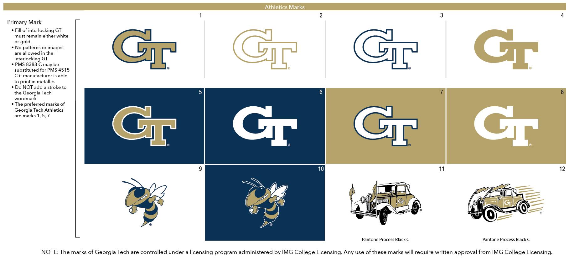 Georgia Tech Athletics – Brand Guidelines – Georgia Tech