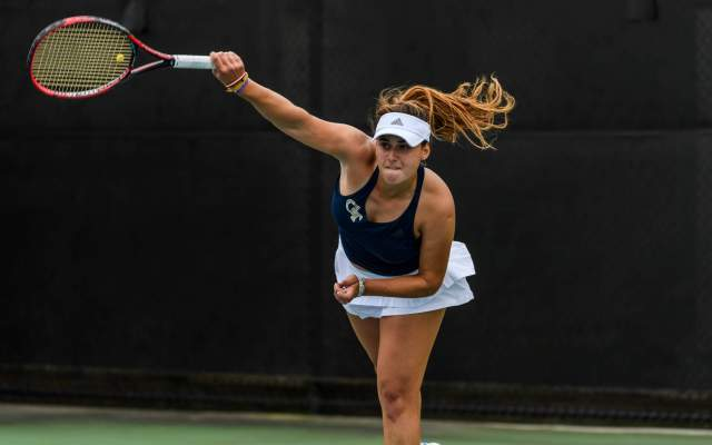 Jackets Post Successful Day at ITA Southeast Regionals
