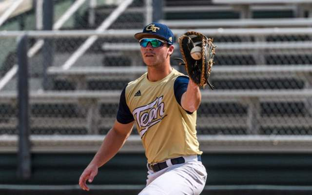 Jackets Fall to Bulldogs, 10-7, at Turner Field