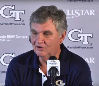 VIDEO: Paul Johnson Weekly Press Conference (Game 7 - Duke)