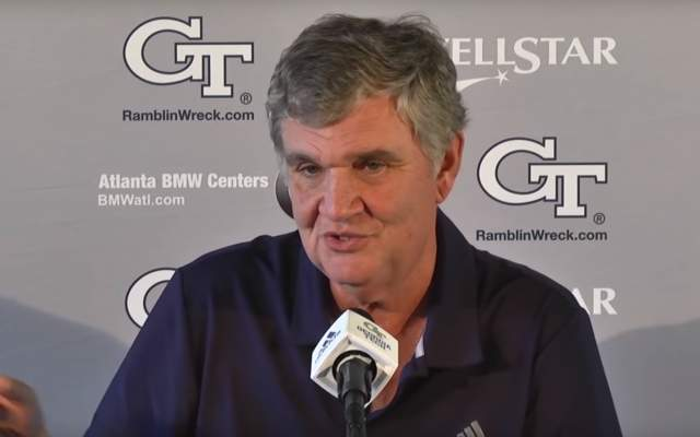 VIDEO: Paul Johnson Weekly Press Conference (Game 8 - VT)