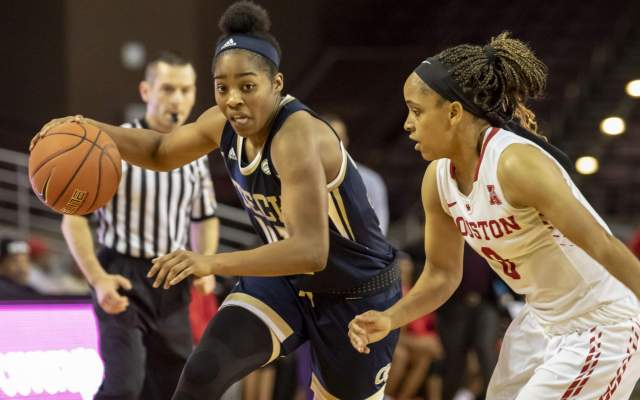 Georgia Tech Sweeps Atlanta Tipoff Club's Top Women's Basketball Honors