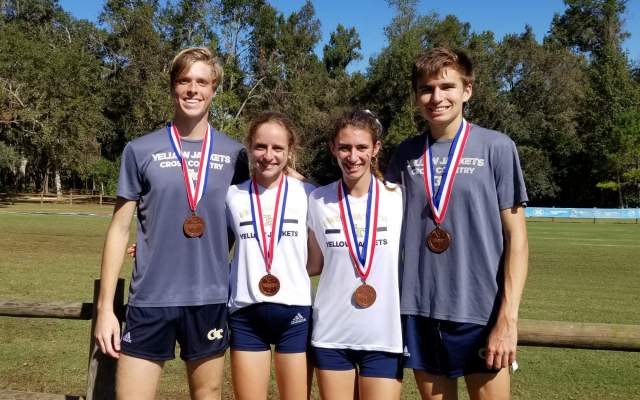 Cross Country Sweeps Title at Jacksonville State Open