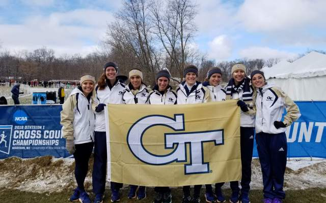 Women's Cross Country Top Conference in GPA