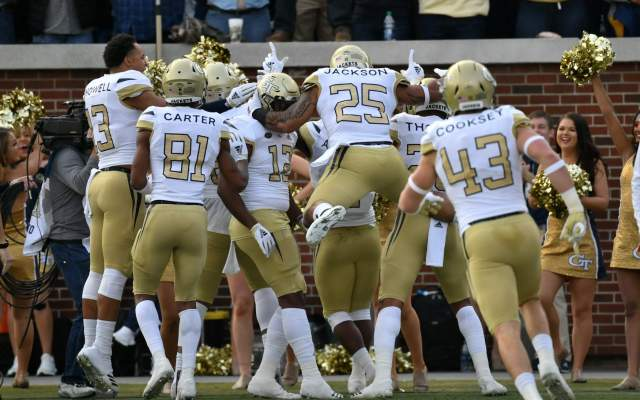 Yellow Jackets Place Four On All-ACC Academic Football Team