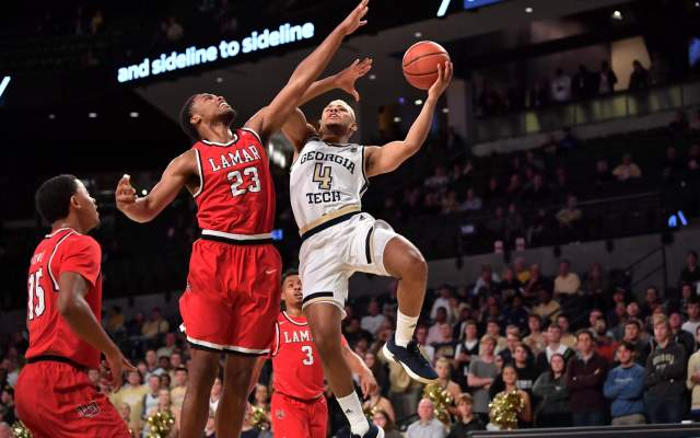 Georgia Tech Edges North Carolina A&T, 78-71