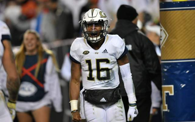 Jonathan Dwyer Named Candidate For Doak Walker Award