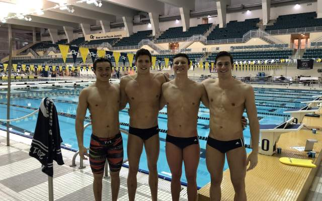 Men's Swimming Set for ACC Championships