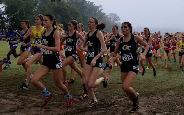 Tech Cross Country Falls To Georgia In Season Opener