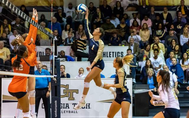 @GTVolleyball Falls At SMU, 3-0