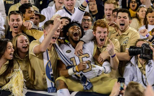 Georgia Tech Football honors Ethan Young