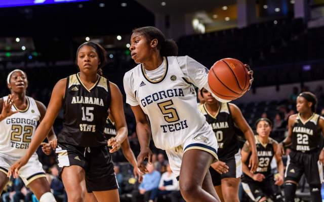 Photos: Women's Basketball vs. Alabama State