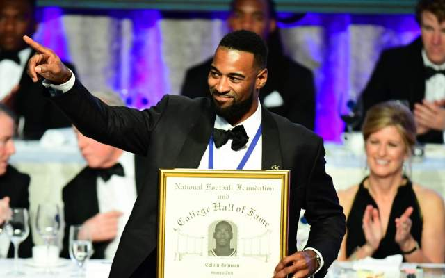 PHOTOS: Calvin Johnson College Football Hall of Fame Induction