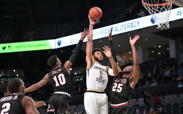 Gardner-Webb Outlasts Georgia Tech, 79-69