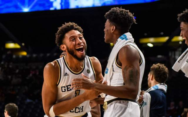 Georgia Tech 79, Wofford 70