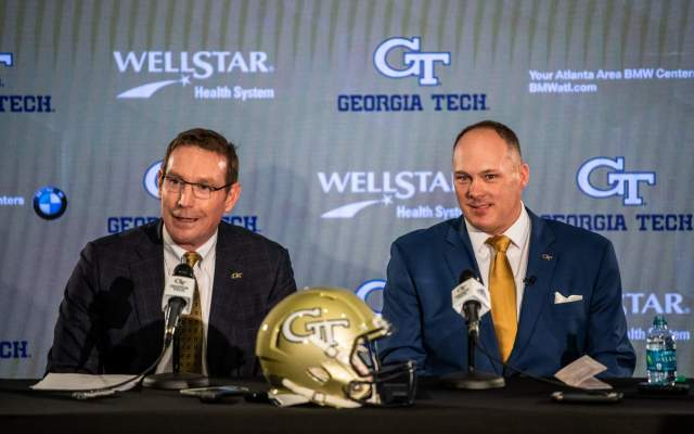 Photos: Geoff Collins Intro Press Conference