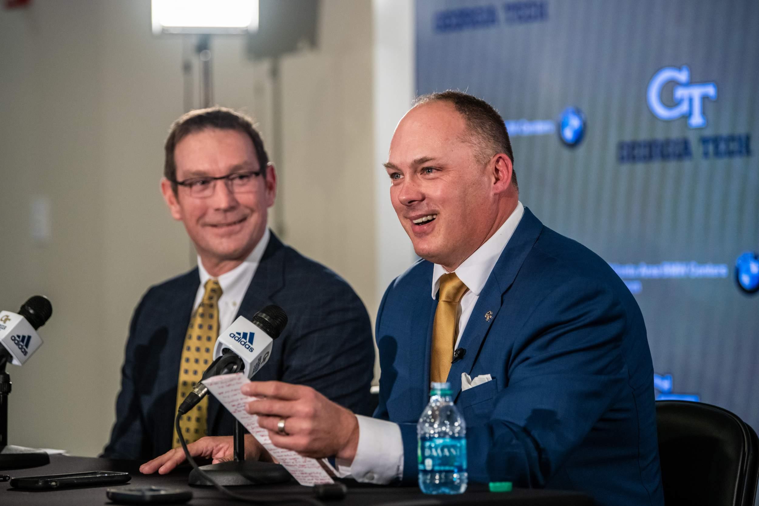 Welcome Head Coach Geoff Collins — Georgia Tech Yellow Jackets