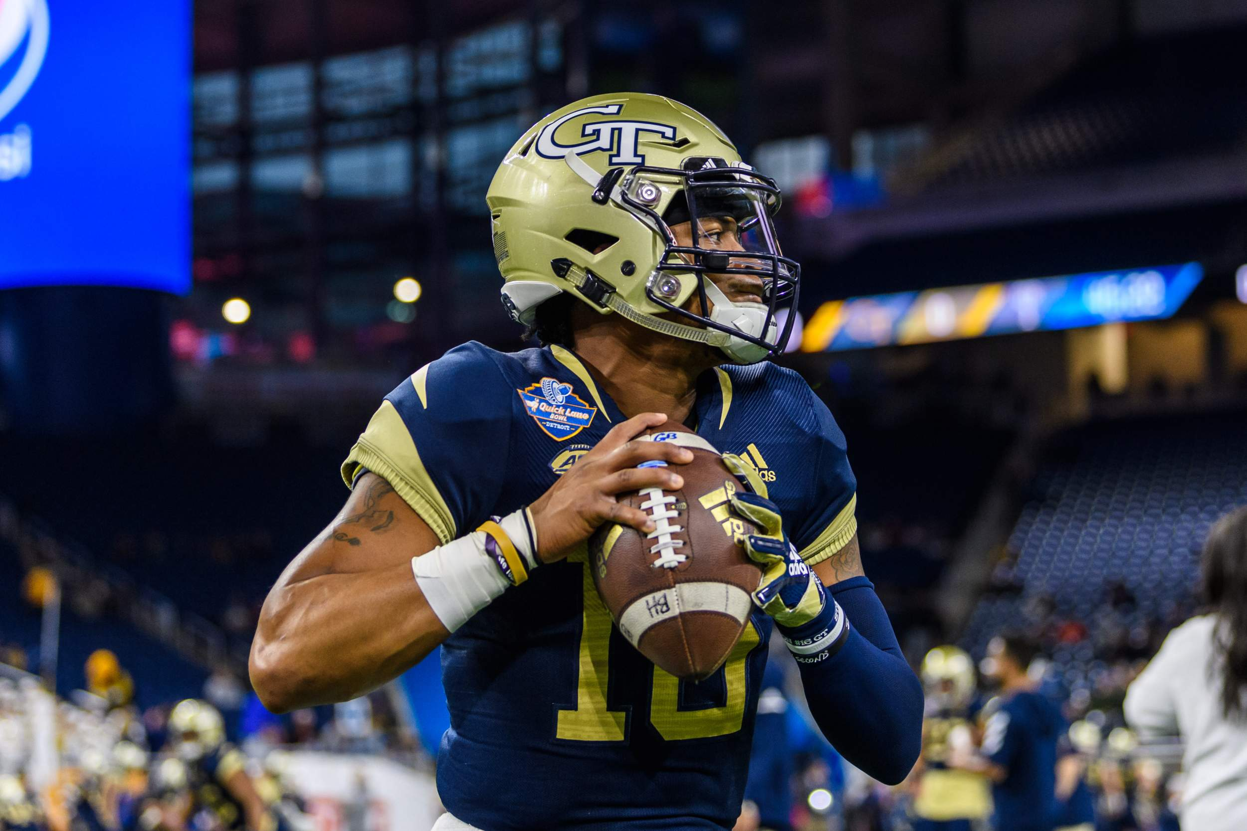 Jackets End Season with Quick Lane Bowl Defeat – Football
