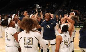 GT Women's Basketball visits Zelnak Center